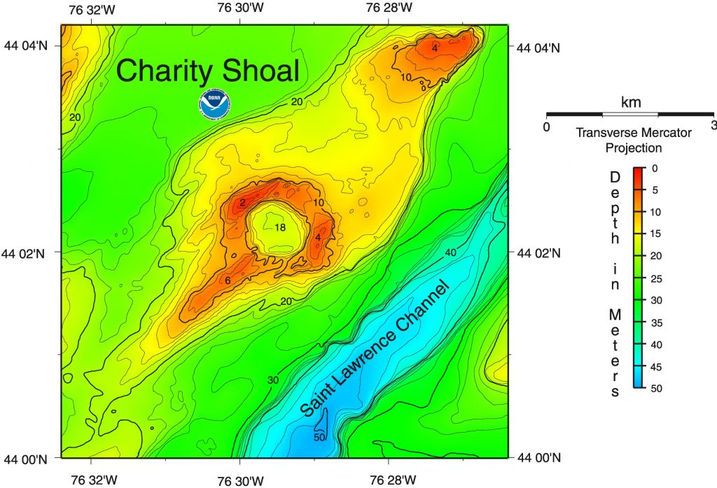 CHARITY SHOAL – Crater Explorer