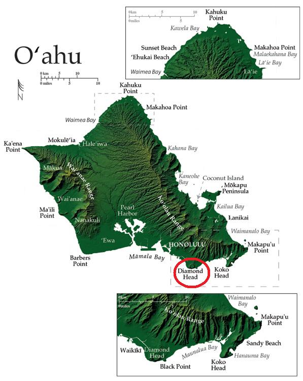 Diamond Head Volcanic Crater – Crater Explorer